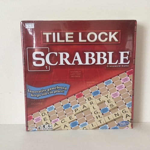 Tile Lock Scrabble Crossword Game