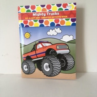 Do A Dot Mighty Truck Activity Book