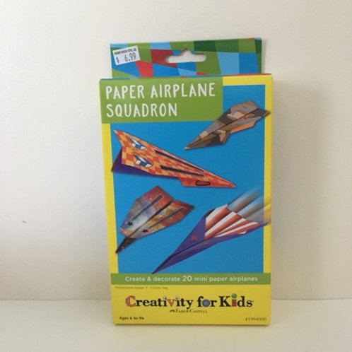 Creativity For Kids - Paper Airplane Squadron