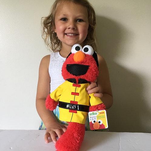 Gund Sesame Street Fireman Elmo Plush