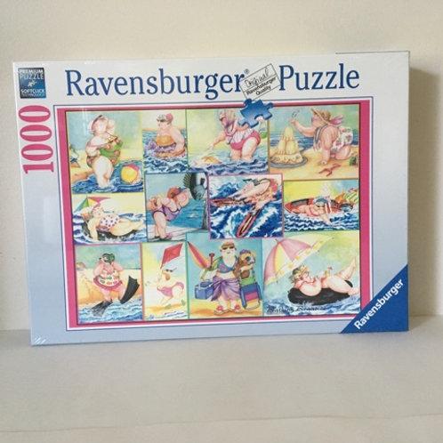 Ravensburger Bathing Beauties Puzzle
