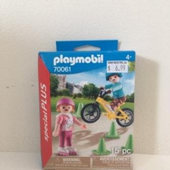 Playmobil Bike Scene