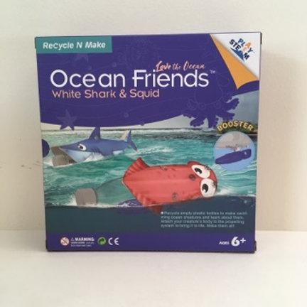 Play Steam Ocean Friends Kit - White Shark & Squid