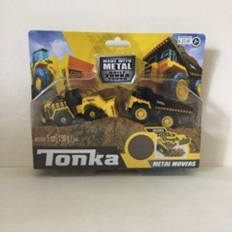 Tonka Metal Mover Vehicles