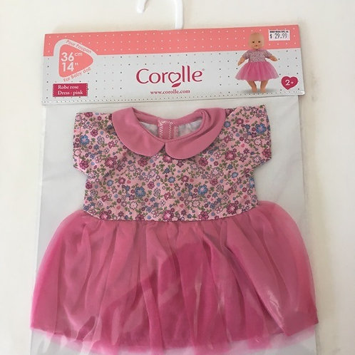 Corolle 12 inch Pink Dress #110340
