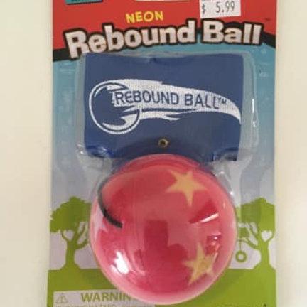 ToySmith Neon Rebound Ball, Pink