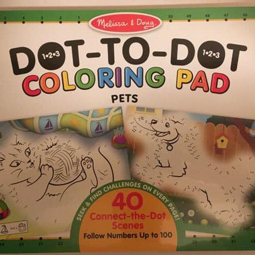 Melissa & Doug Coloring Pad, PETS