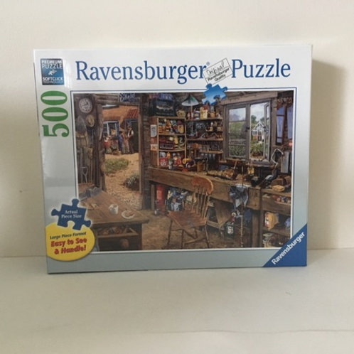Ravensburger Large Format Dad's Shed Puzzle