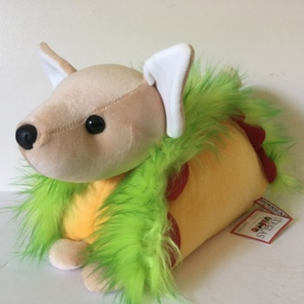 Douglas Chihuahua Taco Macaroon Plush #4766
