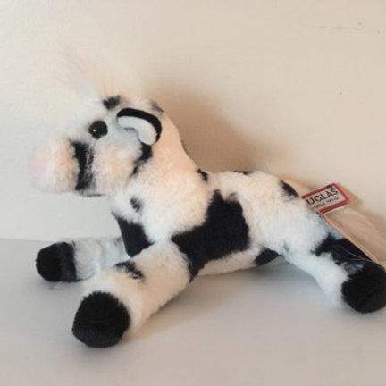 Douglas Betsy Black & White Plush Cow #1552