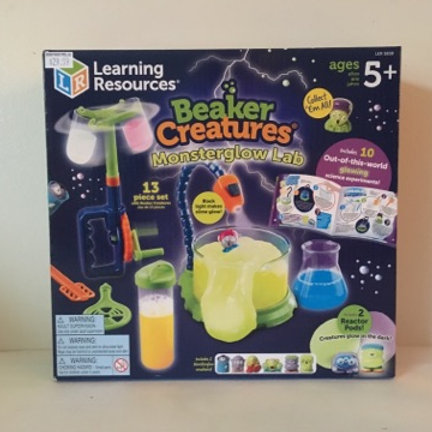 Learning Resources Beaker Creatures Monster Glow Lab