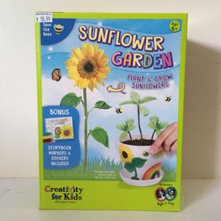 Creativity for Kids Sunflower Garden Set