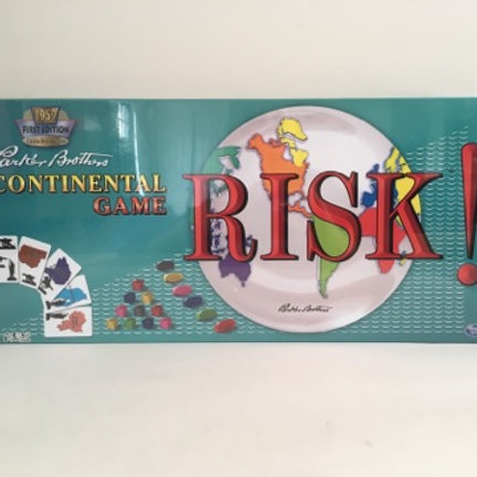 Parker Brothers Risk the Game