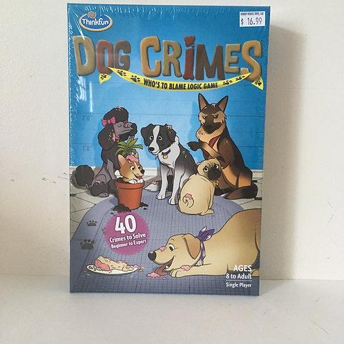 Thinkfun's Dog Crimes Game