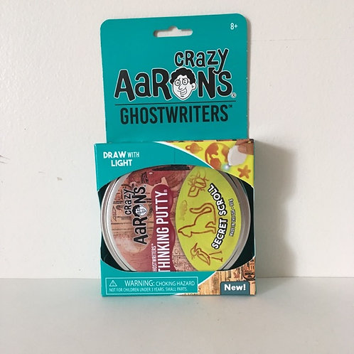 Crazy Aaron's Ghostwriters Secret Scroll Thinking Putty