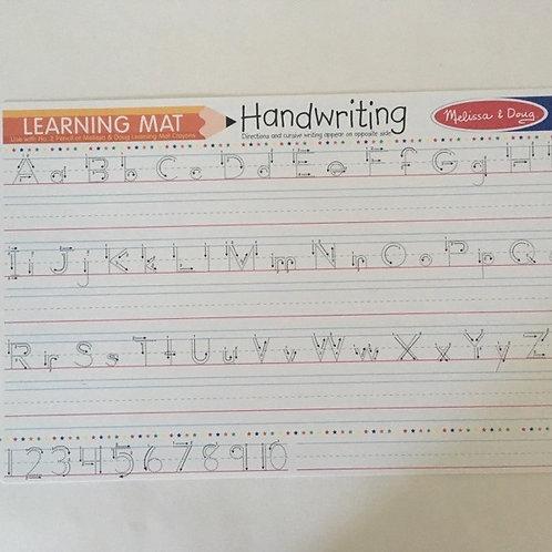 Melissa & Doug Learning Mat - Handwriting