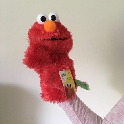 Gund Sesame Street Puppet Elmo