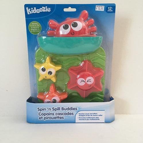 Kidoozie Spin'n Spill Buddies
