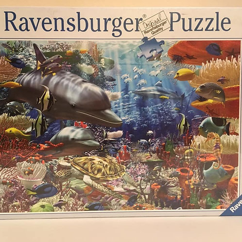 Ravensburger 3000 pc Puzzle, Under the sea