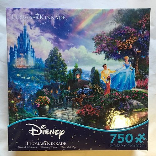 Ceaco Disney Thomas Kinkade Puzzle - Cinderella