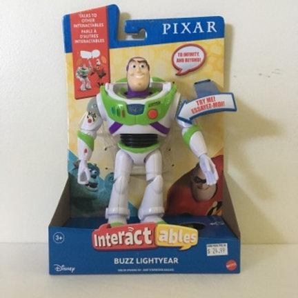 Disney Pixar Buzz LighYear Interactable Figure