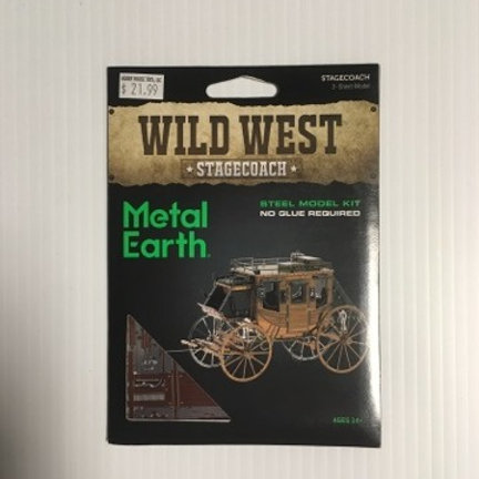Metal Earth Wild West Stagecoach