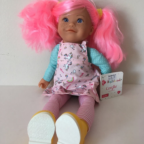 Corolle 16 inch Rainbow Praline Doll #300010