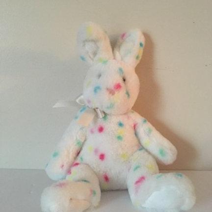 Douglas Confetti Bunny Plush #610