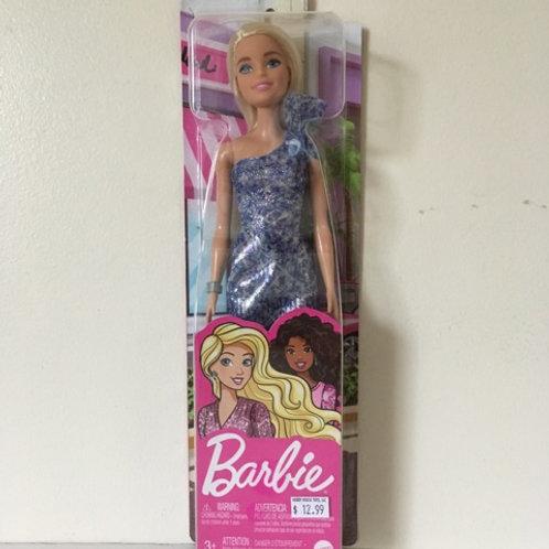 Barbie Doll with Blue Dress #GRB32