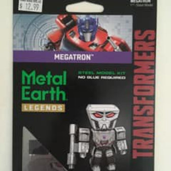 Metal Earth Legends Transformers Megatron
