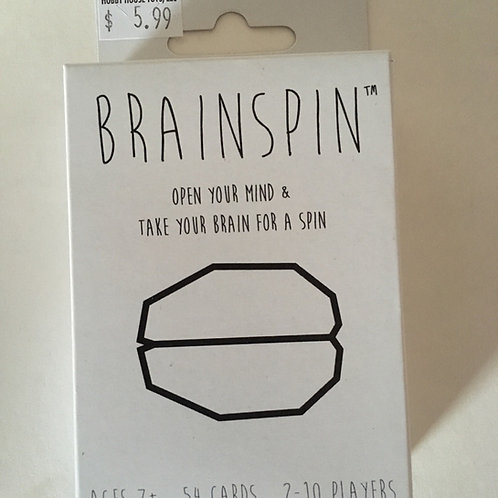 Brainspin Card Game