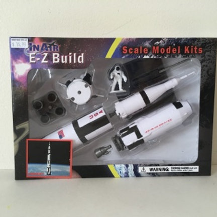 E-Z Build ScaleModel Kit - Saturn V Rocket