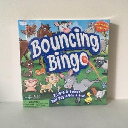 Bouncing Bingo Game