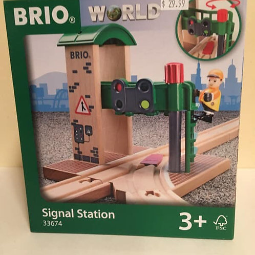 Brio World Signal Station, #33674