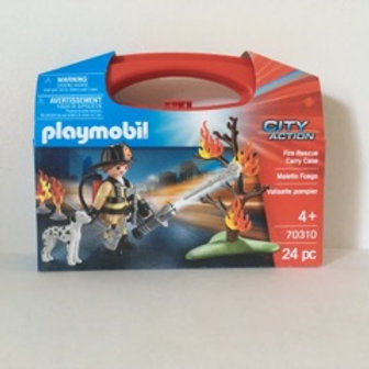 Playmobil Fire Rescue with Carry Case