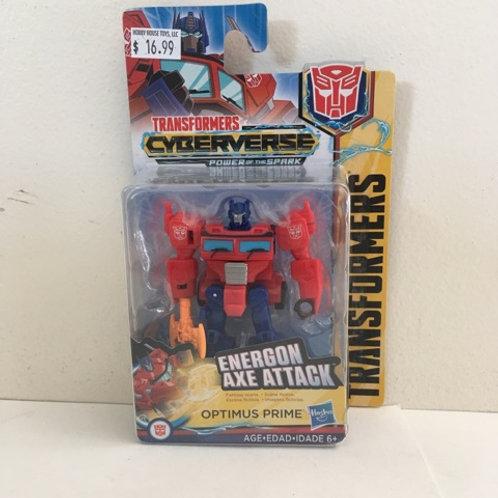 Hasbro Transformer - Energon Axe Attack Optimus Prime