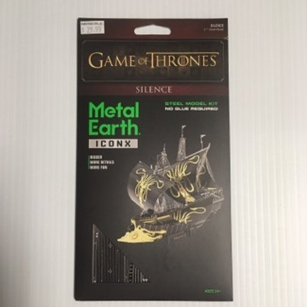 Metal Earth Game of Thrones Silence