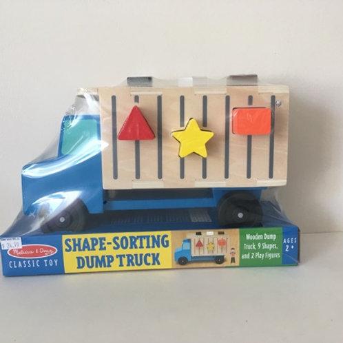 Melissa & Doug Shape -Sorting Dump Truck