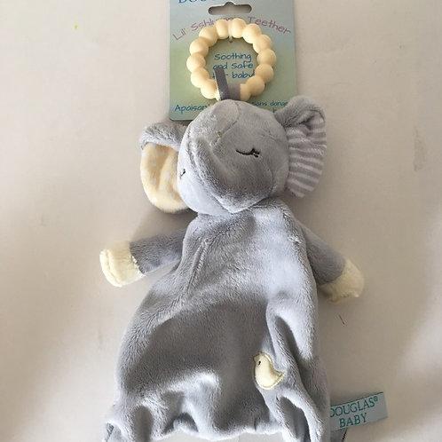 Douglas Lil Sshlumpie Teether - Elephant