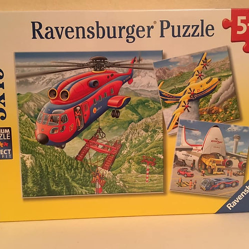 Ravensburger Puzzle 3x49 Above the Clouds