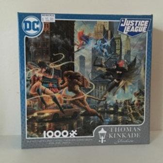Ceaco Justice League Thomas Kinkade Puzzle