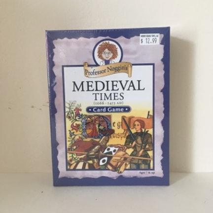 Professor Noggin's Medieval Times Card game