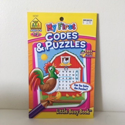 My First Codes & Puzzles