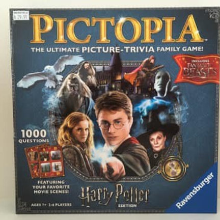 Pictopoa, The ultimate picture trivia family game, Harry Potter Edition