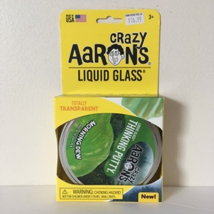 Crazy Aarons Liquid Glass Morning Dew Thinking Putty
