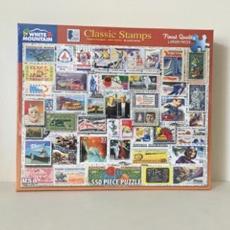 White Mountain Classic Stamps Puzzle