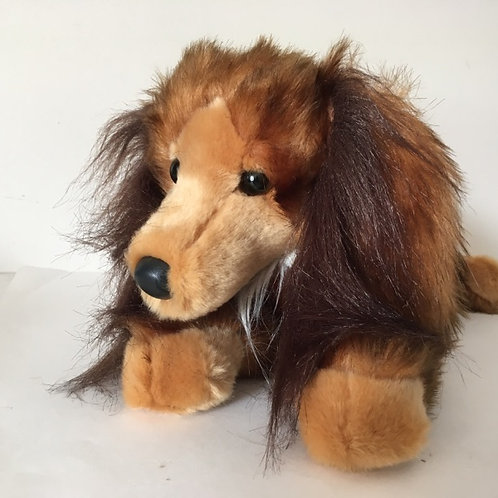Douglas Kenzie Long Hair Dachshund Plush