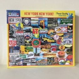 White Mountain New York New York! Puzzle