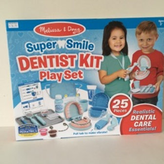 Melissa & Doug Super Smile Dentist Kit Play Set