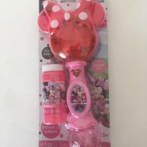 Disney Minnie Lights & Sound Bubble Wand